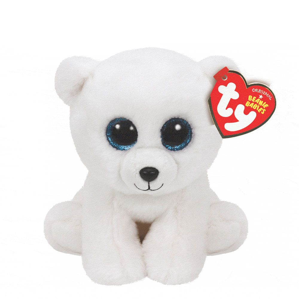 2d8c66911fe TY Beanie Boos Small Tundra the White Tiger Plush Toy