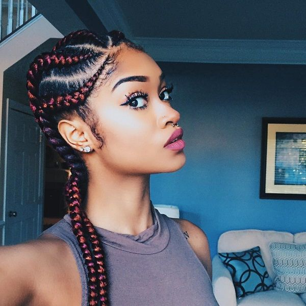Braided Natural Hairstyle Easy Go To Style For Summer