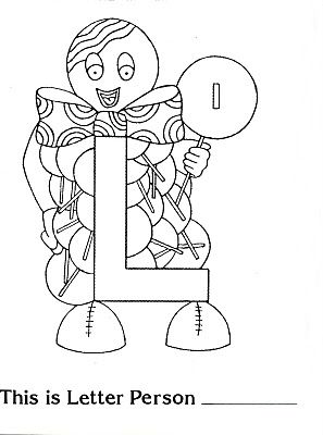 Pin By On Letter L Letter People People Coloring Pages Alphabet Coloring Pages