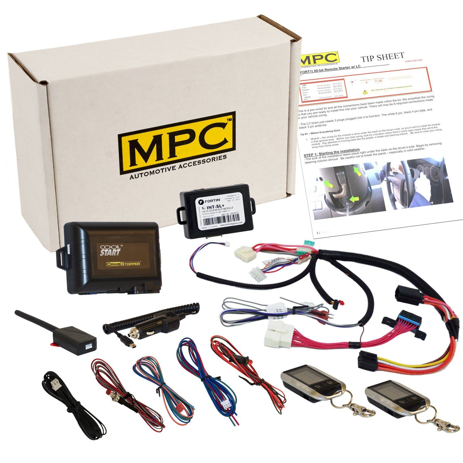 Plug & Play 2-Way Remote Start Kit For Sierra & Silverado 2003-2007 Classic Body Style - This Kit Offers the Easiest Installation Available On the Market!