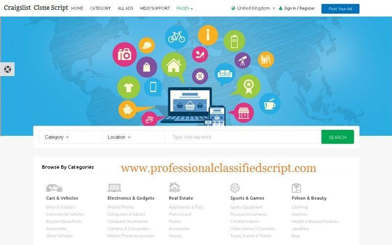 Classified Ads Script Php Craigslist Script Craigslist Clone Classified Ads Create Ads Banner Ads