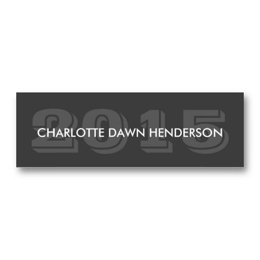 Gray name card graduation announcement class year business cards gray name card graduation announcement class year business card templatesbusiness cheaphphosting Image collections