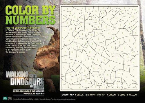 Walking with Dinosaurs para Impressão Folhas de Actividades | kids ...