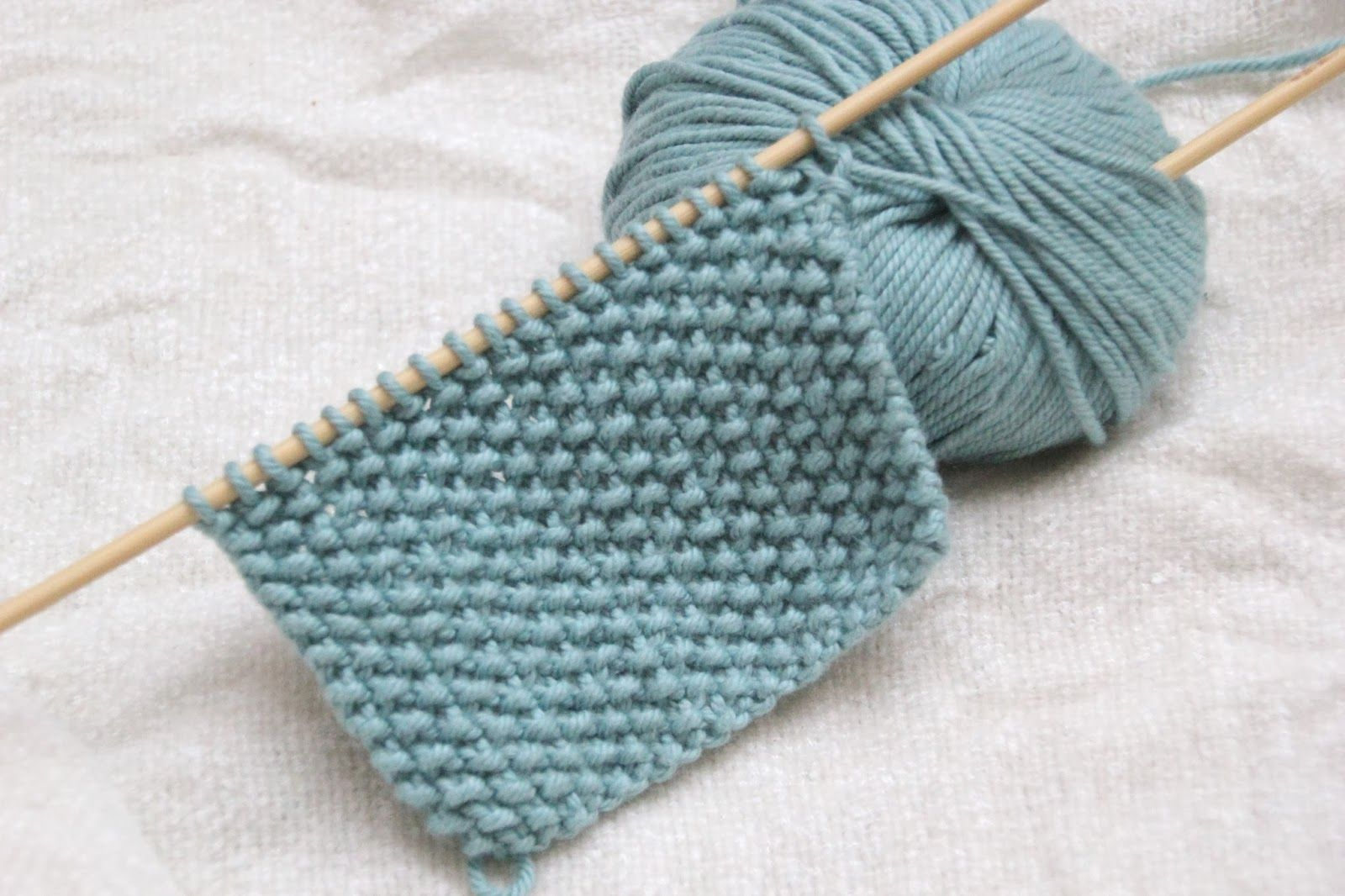 Curso aprender a tejer con dos agujas cap 9 punto de - Puntos para tejer lana ...