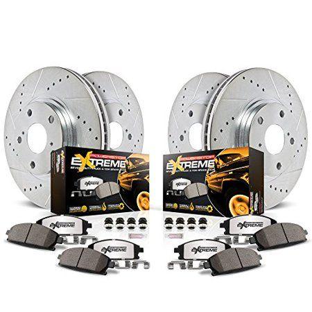 2 Drill Slot Brake Disc Rotors Set REAR Fits 1994-1995 Mercedes Benz E300