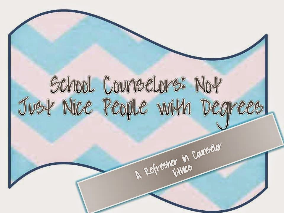 School Counselors Not Just Nice People With Degrees Counseling