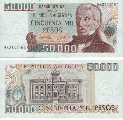 Resultado de imagen de Peso argentino ley