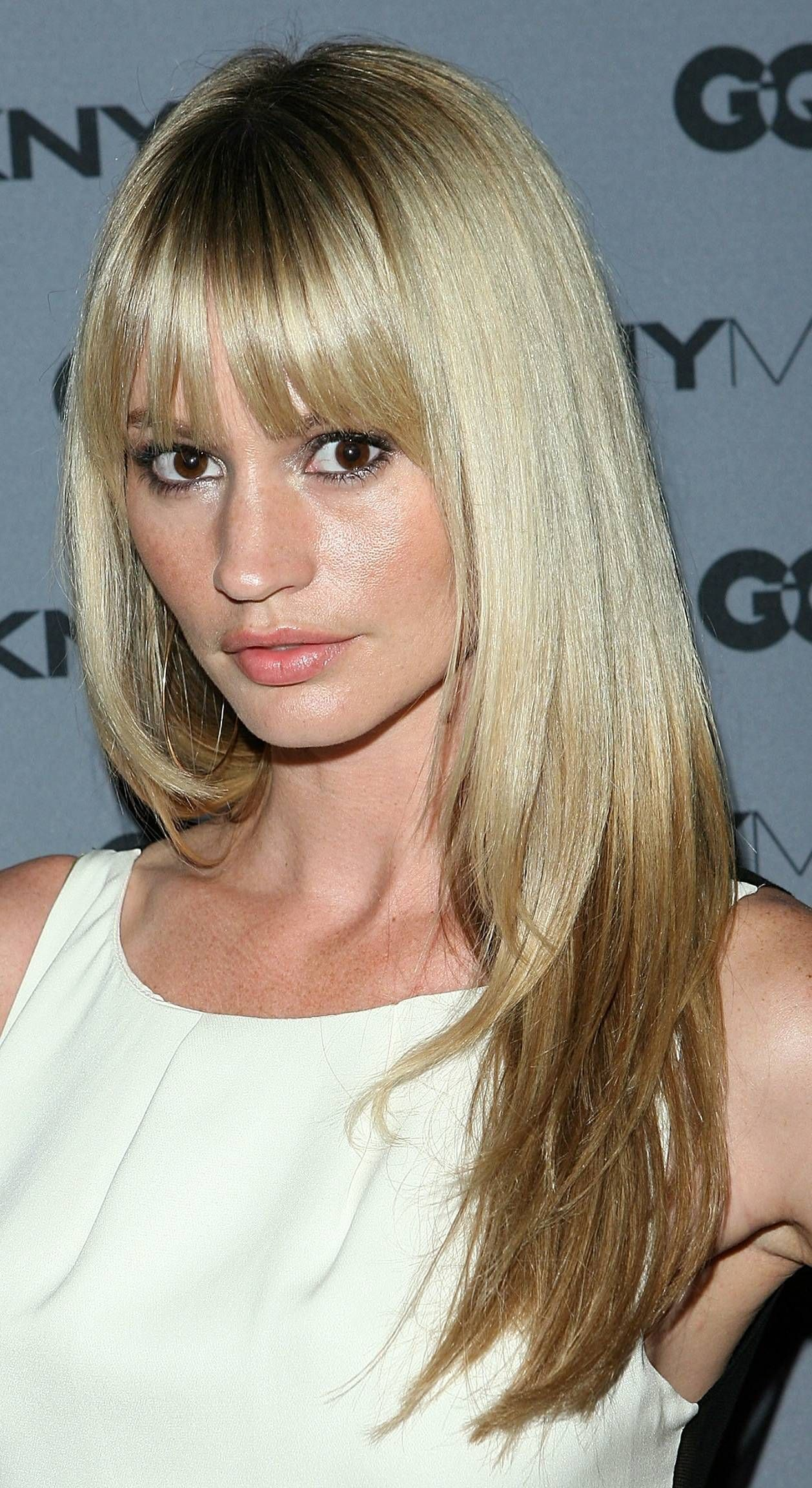 Fresh Hairstyles for Long Fine Hair with Bangs
