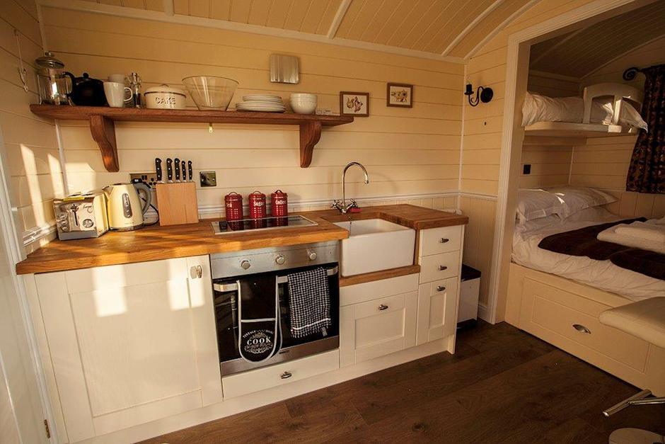 Shepard's Hut interior Shepherds hut, Tiny house