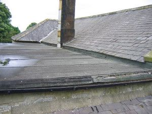 How To Protect Your Home During Winter Leaking Flat Roof Flat Roof Roof Leak Repair