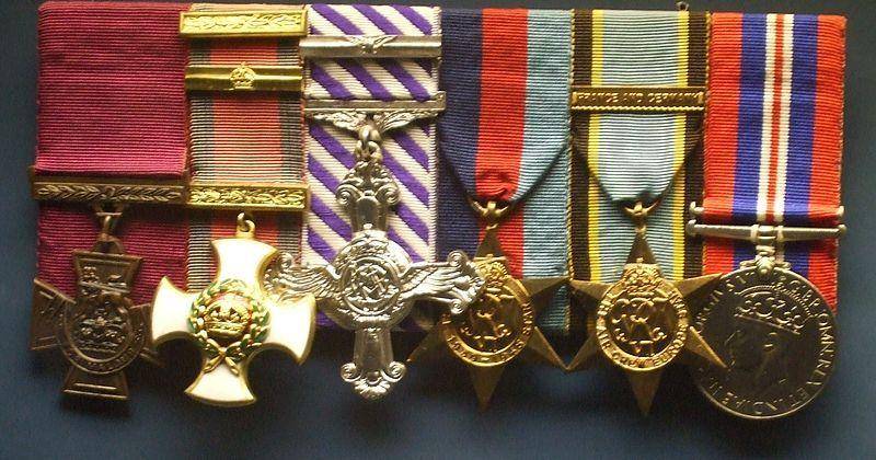 World War 11 Air Crew Europe Medal Ribbon Bar Pin WW 11 Air Crew Europe Ribbon