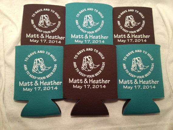 To Have and to Hold Can Coolers design by odysseycustomdesigns
