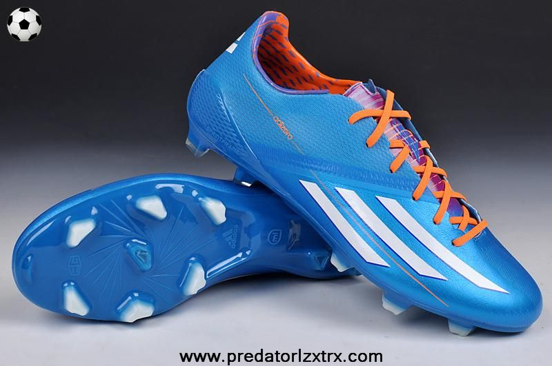 Adidas F50 AdiZero TRX FG (Blue White Orange) For Wholesale