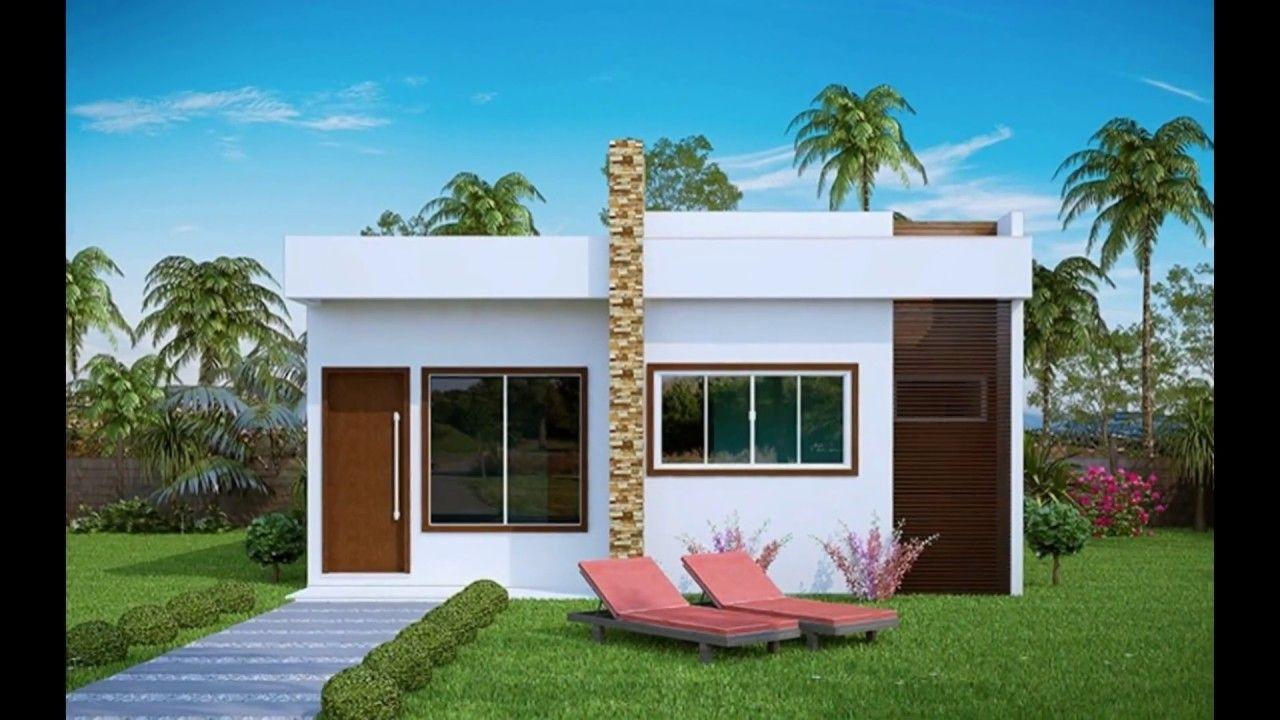Casas pequenas arquitectura deco en 2019 pinterest for Modelos de casas pequenas y bonitas