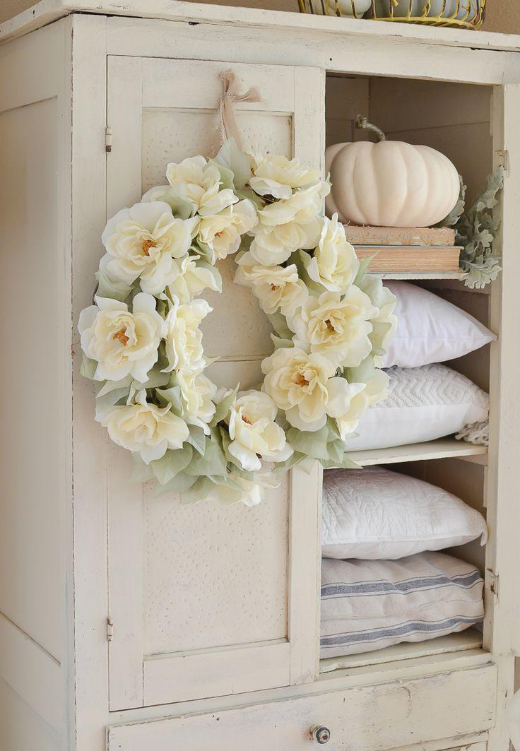 The Easiest DIY Fall Wreath Ever   LIGHTEN UP!   Pinterest ...