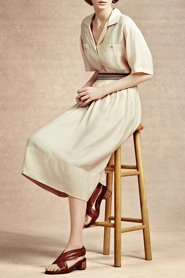 Sweet and simple spring dressing from Stella McCartney!
