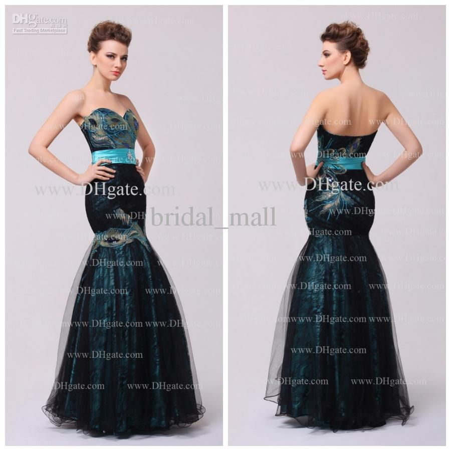 Hot sale gold lace appliques prom dresses beaded sweetheart backless