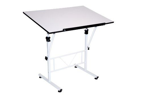 Martin Smart Art Hobby Table White With White Top 24