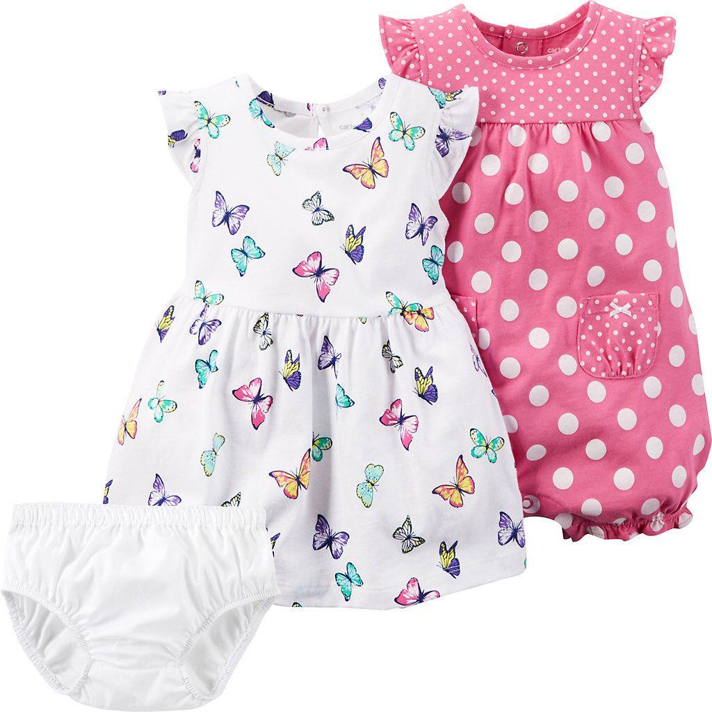 c6dd876e842 Rare Editions Baby Girls 324 Months Thanksgiving Pumpkin Jumper Dress and Striped  Bodysuit Set  Dillards