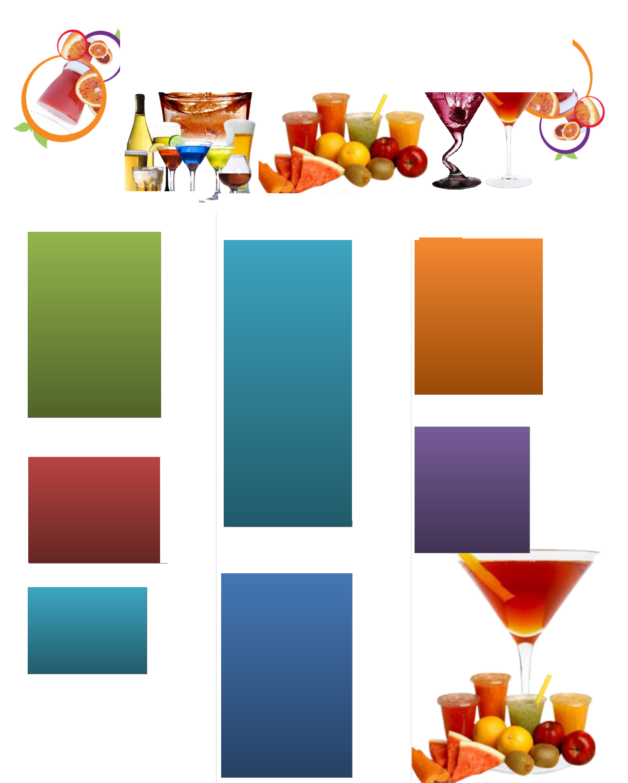 drinks bar menu template menu pinterest menu templates drink