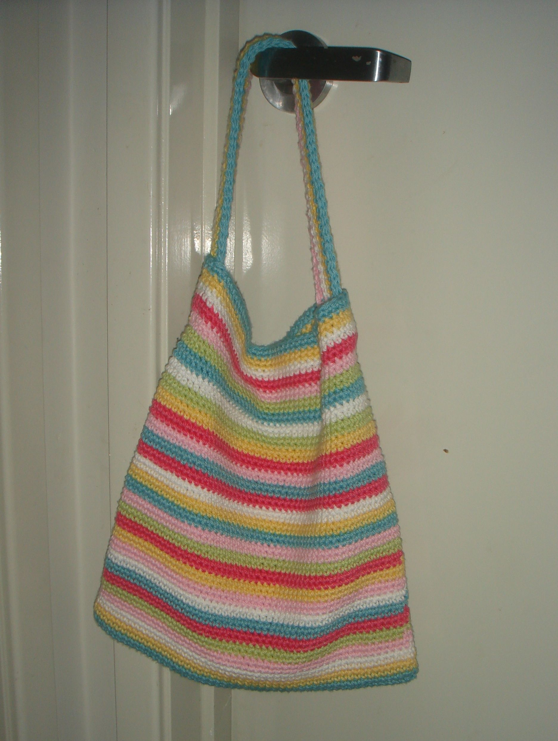 Book Bag Free Beginners Pattern Crafty Crocheting Crochet