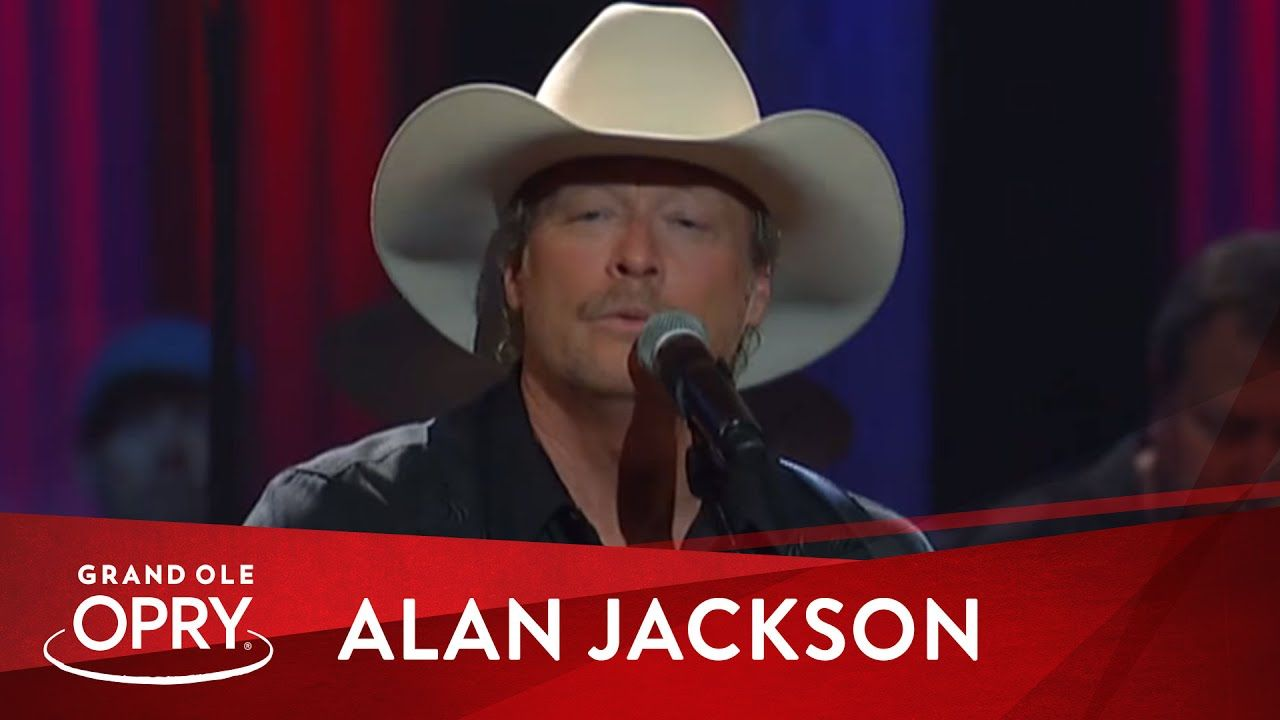 Alan Jackson Where Were You When The World Stopped Turning
