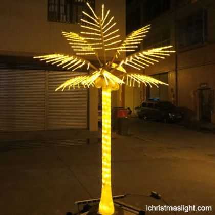 Christmas Decor Palm Tree Lights Outdoor