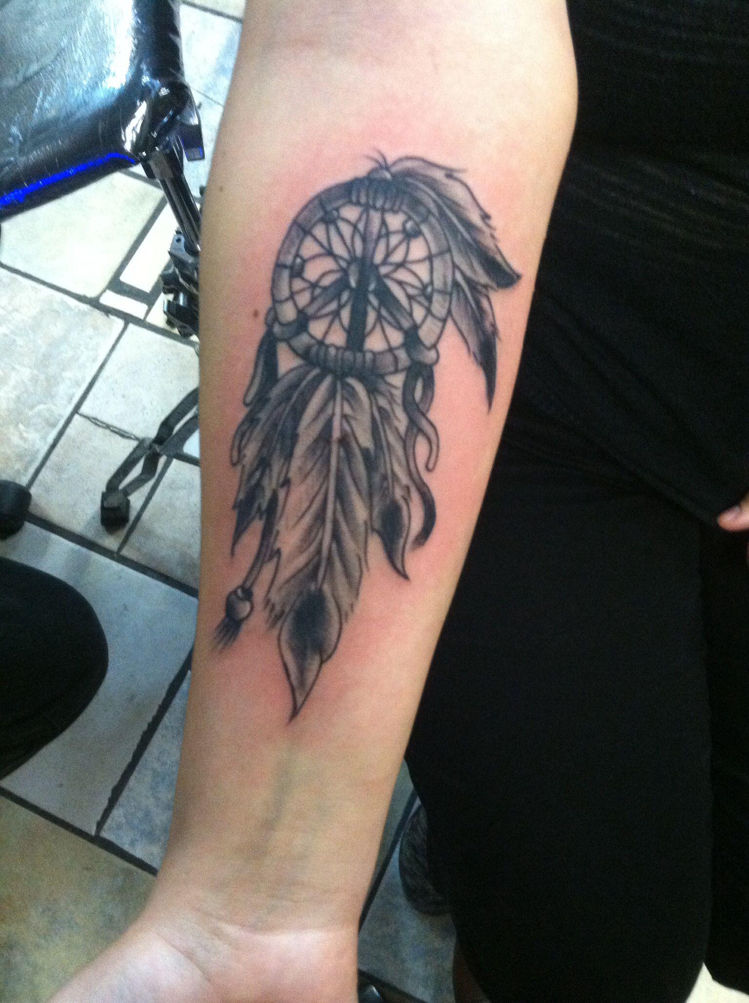 Peace Sign Dreamcatcher Tattoo Pretty Tattoos Dream Catcher
