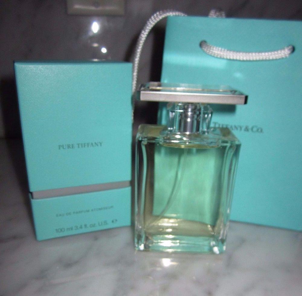 Pure Tiffany Perfume Tiffany Co 100ml 3 4oz Eau De Parfum Edp Discontinued New Pure Products Perfume Perfume Brands