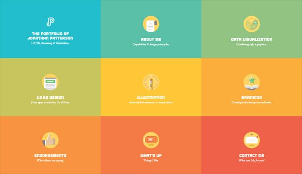 30 Blocky Website Designs Based On A Square Grid Web Development Design Web Design Beautiful Web Design