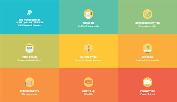 30 Blocky Website Designs Based On A Square Grid Web Development Design Web Design Beautiful Web Design