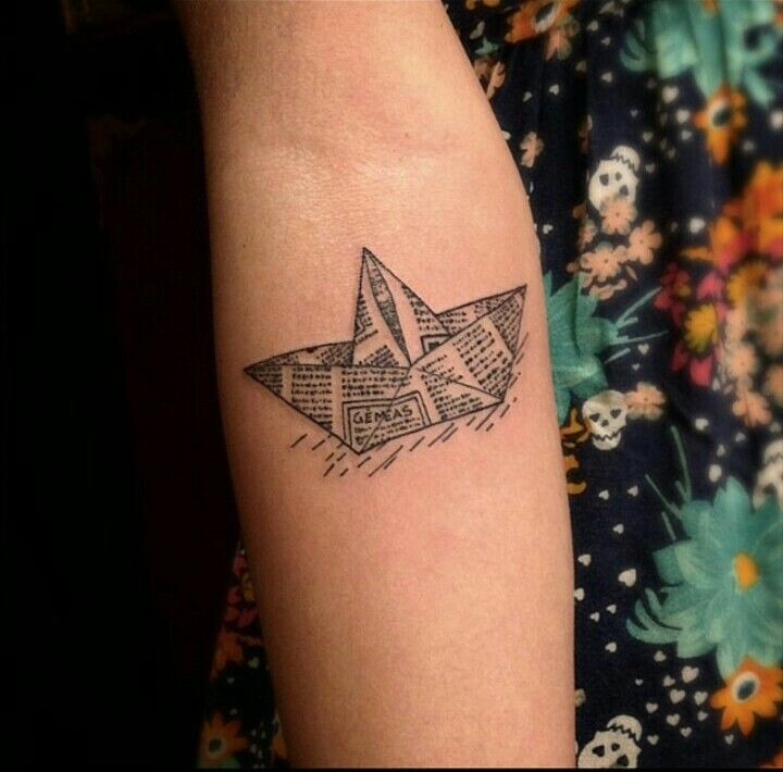 By Victor Montaghini | Brazil | #Blackwork #PaperShip #Journal