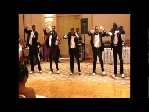 Father Of The Bride And Groomsmen Wedding Dance Featuring Music Temptations