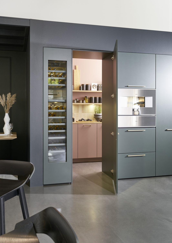 Küche versteckt im Schrank: Comeback der Speisekammer