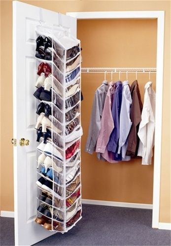 hanging door closet organizer. Shoes Away Over The Door Organizer - Dorm Closet Shoe Hanging Room A