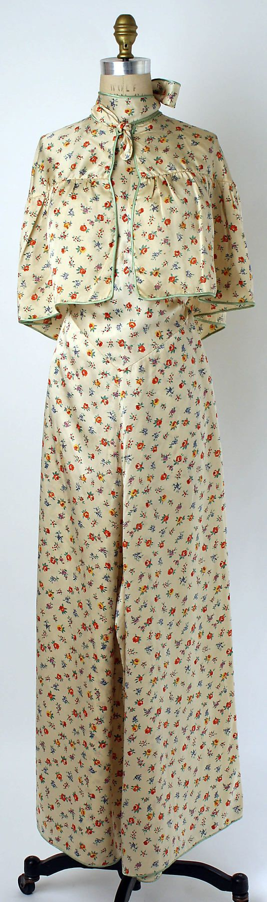 Pajamas Date: 1928 @vintageclothin.com