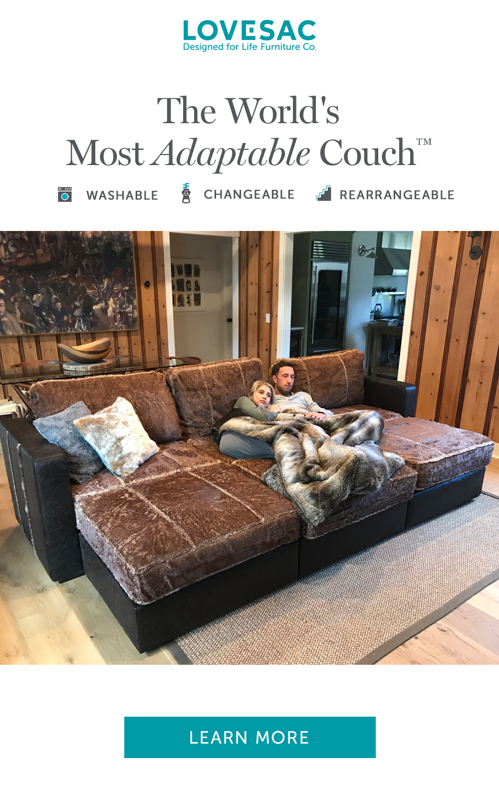 Norma Ecksofa Meet Lovesac Sactionals The World S Most Adaptable Couch With