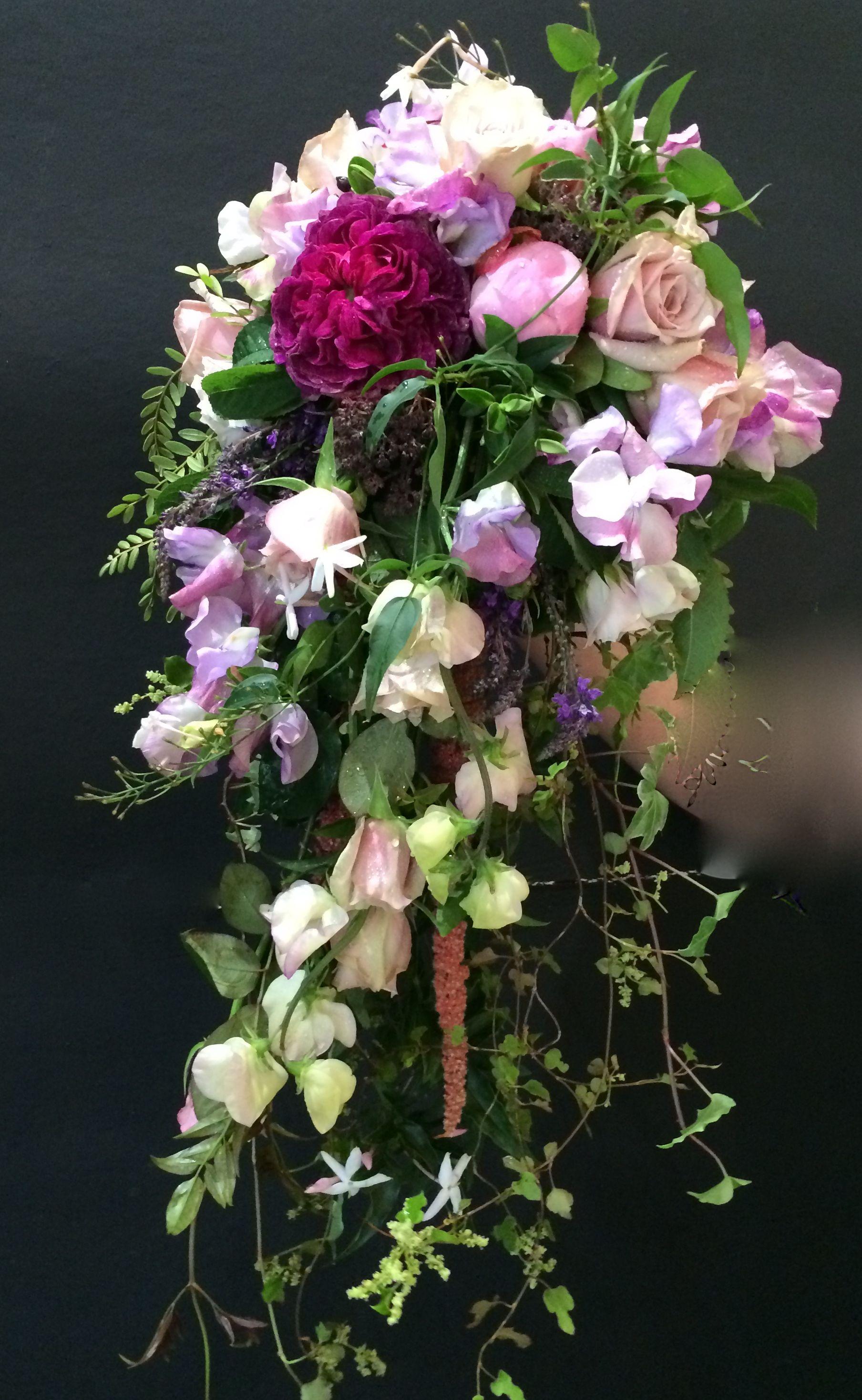 Traling Waterfall Bouquet Wedding Bouquets Wedding