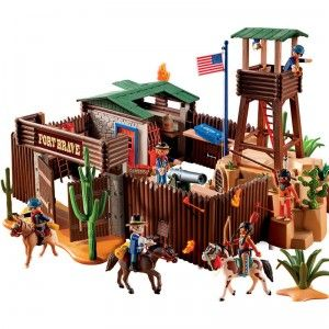 Western Fort From Playmobil Playmobil Playmobil Toys Kids Forts