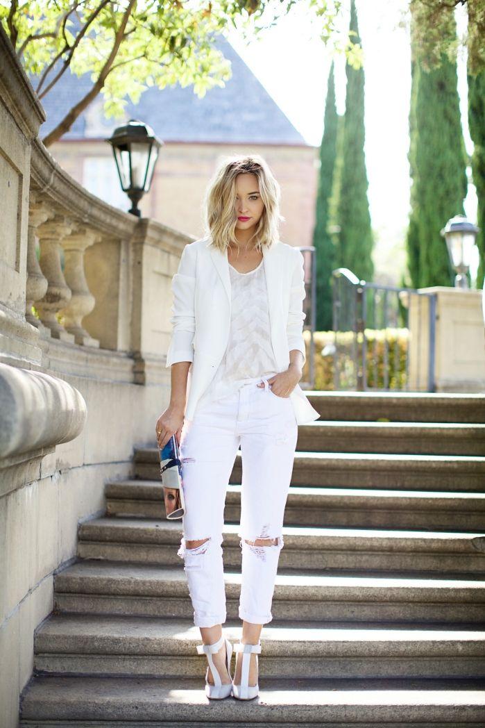 All White | Moda estilo, Moda blanca, Moda