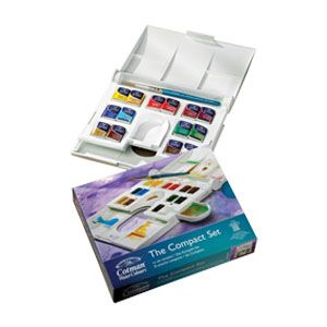 Amazon Com Winsor Newton Professional Water Color Compact Set