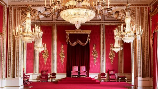 The Throne Room At Buckingham Palace Royal Collection Trust C Her Majesty Queen Elizabeth Ii 2017 Pho Buckingham Palace Tours Buckingham Palace Throne Room