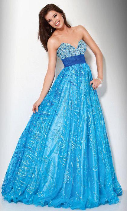 Morgan\'s Junior Prom Dress! pretty blue | Light of Hope | Pinterest ...