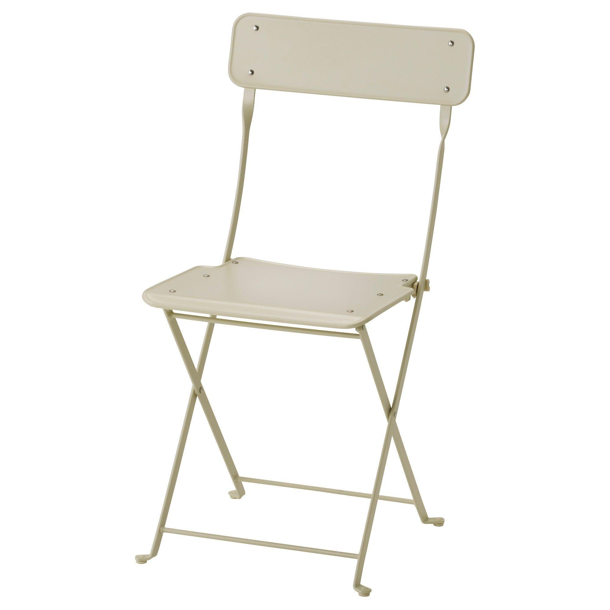 saltholmen chair outdoor foldable beige dining room ikea rh pinterest com