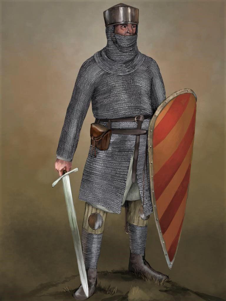 Рыцари среднего века картинки
