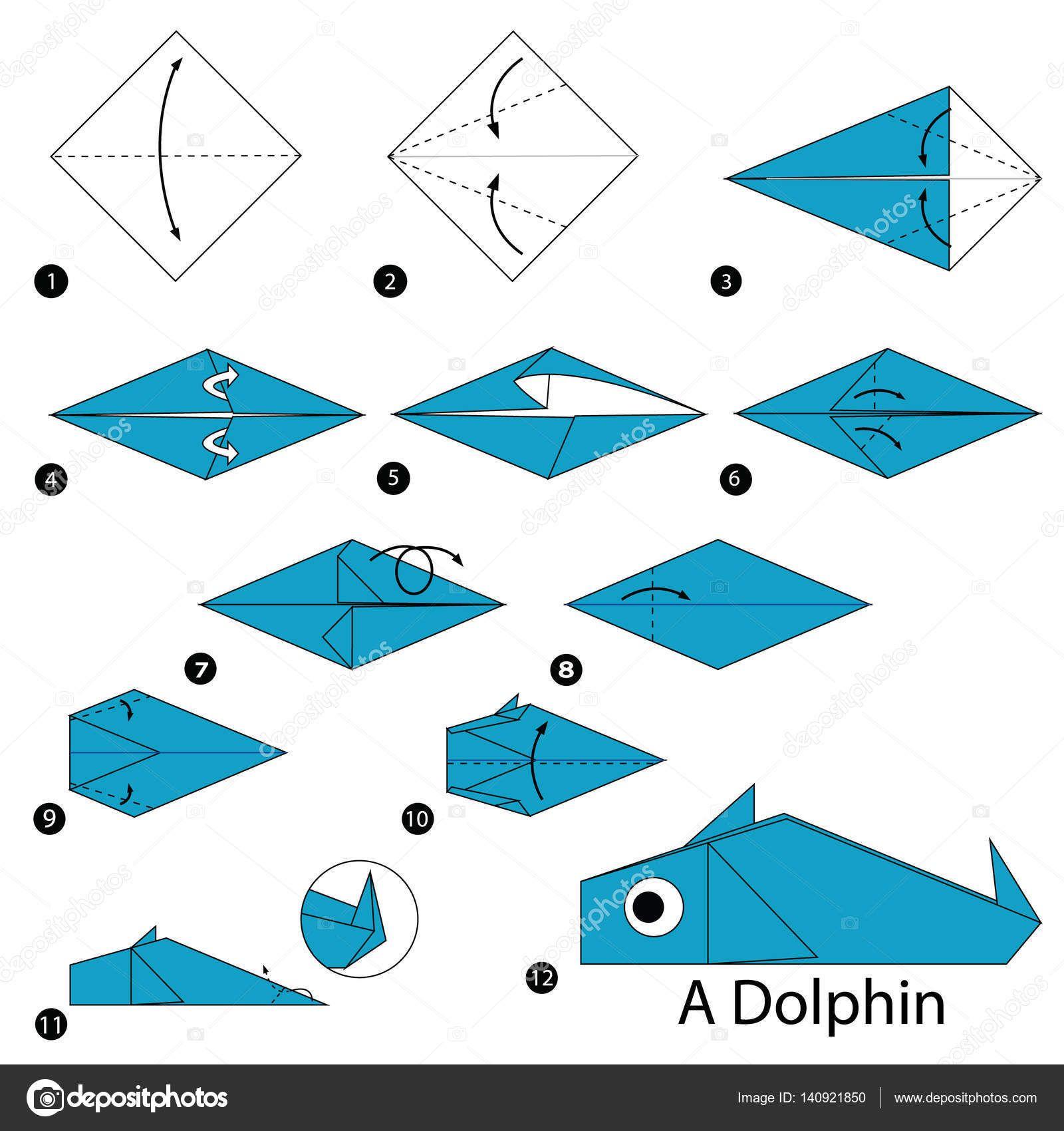 Resultado De Imagen Origami Animales Paso A