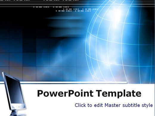 free technology powerpoint templates wondershare pptflash business - engineering powerpoint template