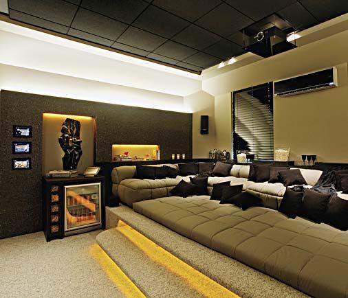 Home Bedroom Theater Cinema: Campinas Decor 2009: Conheça Os 78 Ambientes Da Mostra De