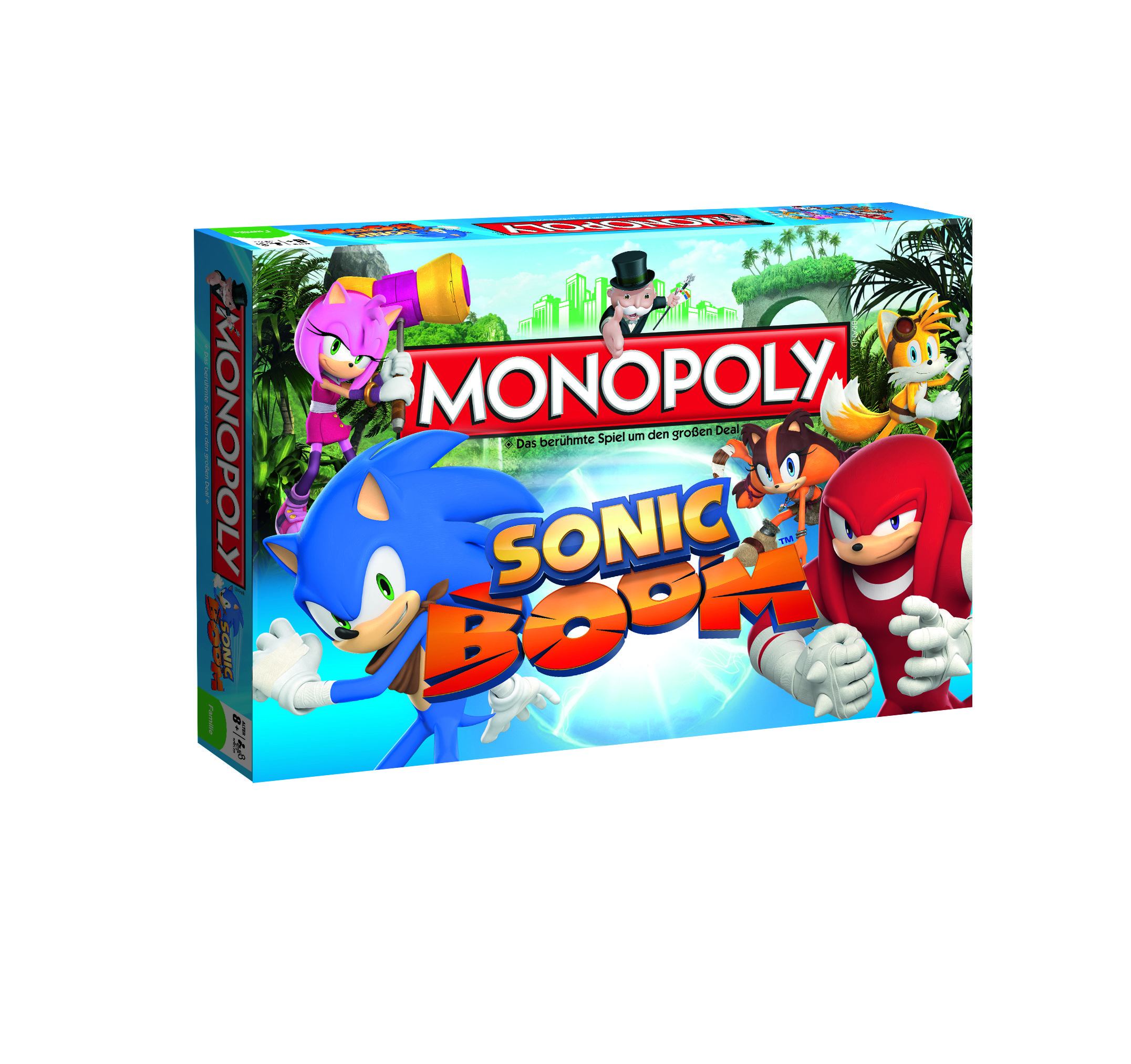 monopoly sonic boom sonic the hedgehog ist seit ber 20. Black Bedroom Furniture Sets. Home Design Ideas