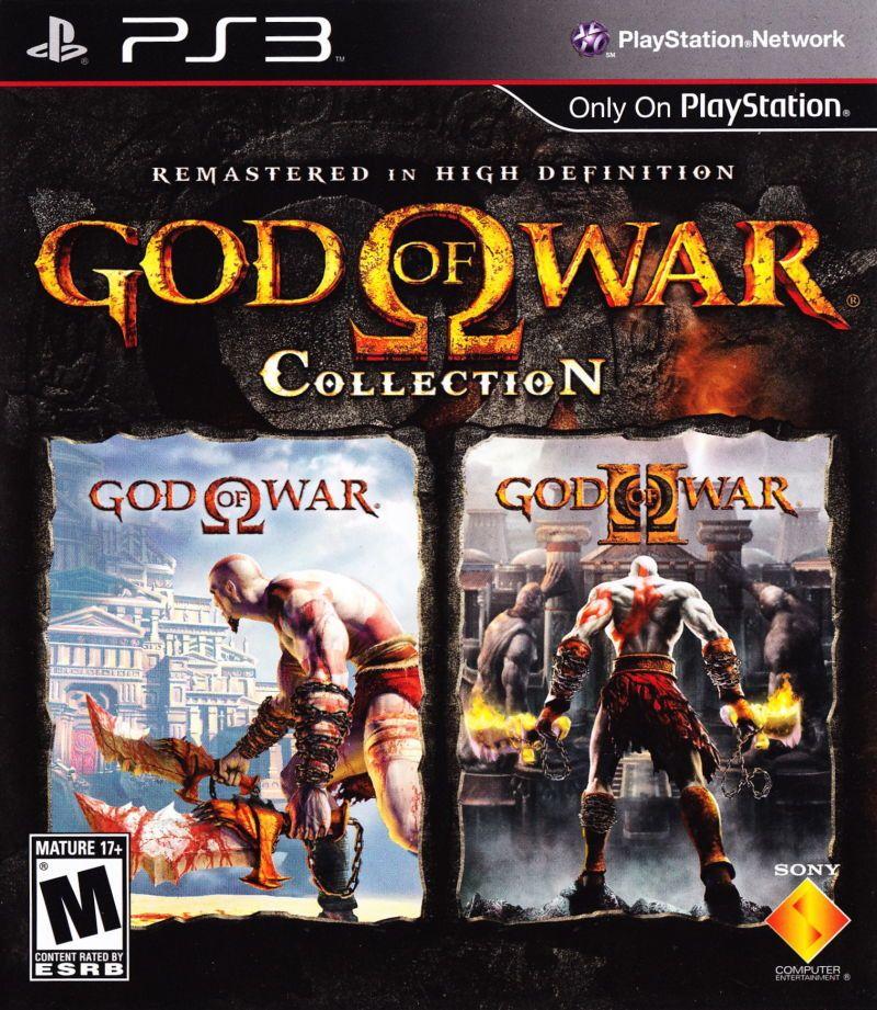 God of War Collection Playstation 3 God of war